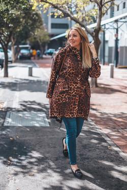 Habits Leopard Print Raincoat Bailey Sch