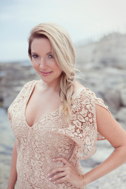 Bailey Schneider 2015 Beach and lace