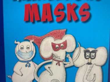 Marvelous Masks will help your children be comfortable wearing a mask!
