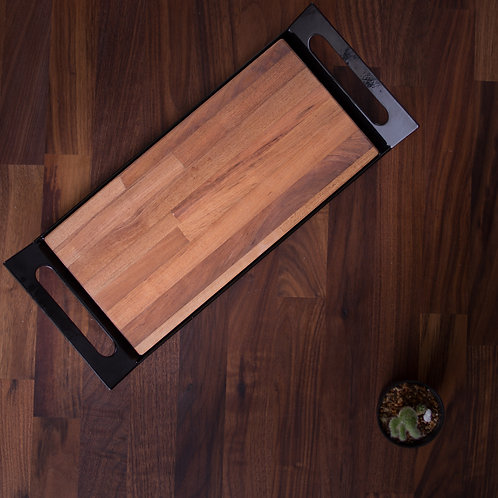 KPH Tray with Removable Wood Top (5 Sizes)