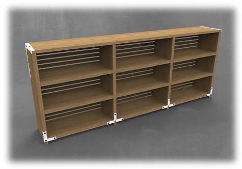 KPH Large Bookshelf