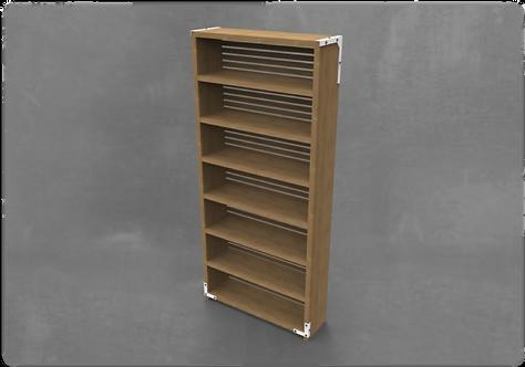 KPH Large Vertical Bookshelf