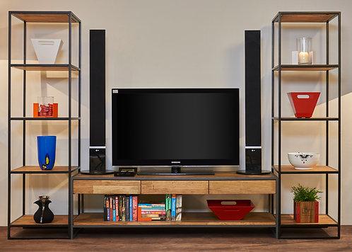 KPHL TV Bench & Bookshelf