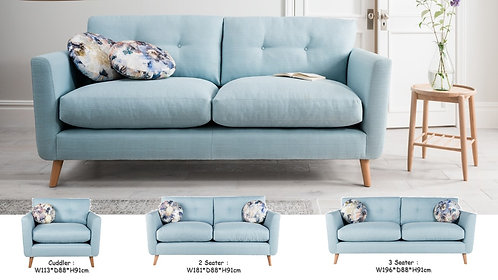 Sparkle Sofa (1/2/3 Seater)