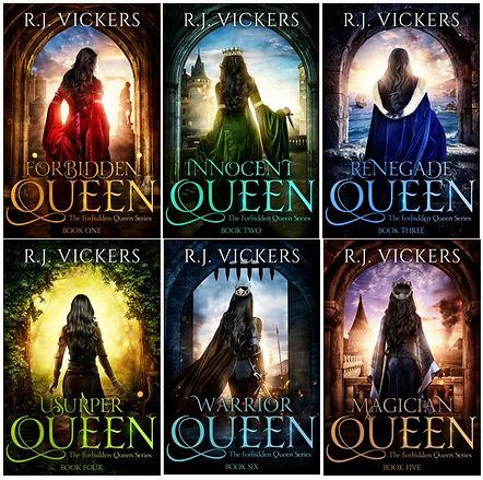 forbidden queen series cover comparison.