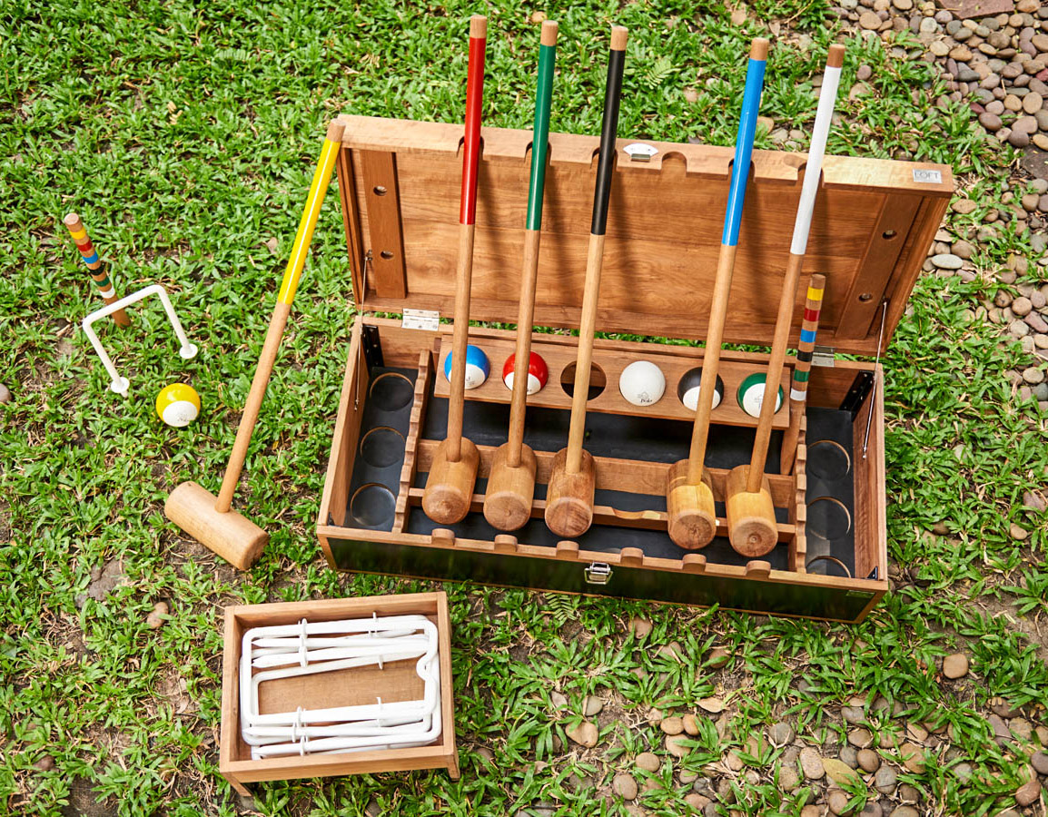 Custom Made Croquet Set