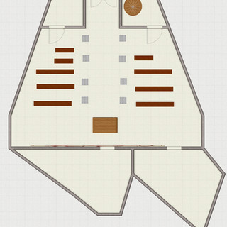 Journey's End High Temple Layout - Ground Floor