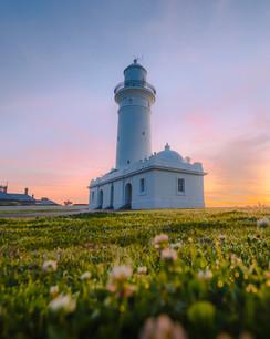 Pastel Lighthouse