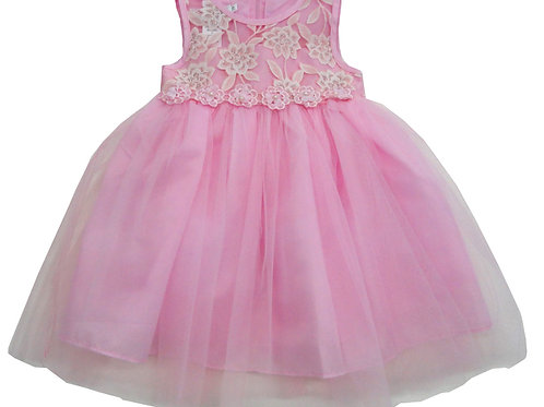 85-01 Infants' Tulle  Embroidered  Dress