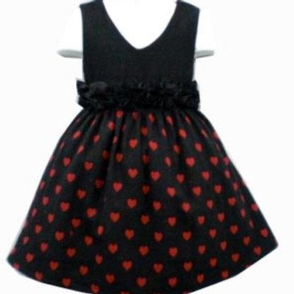 17-114 Girl  Rayon ( Viscose )  Fabric Dress