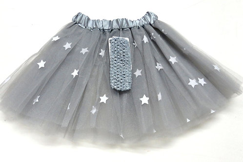 T155L Girls' Tutu with Head Band