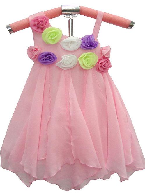 63-151 Girls' Chiffon Dress