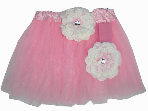 T207 Girls' Tutu with Head Band