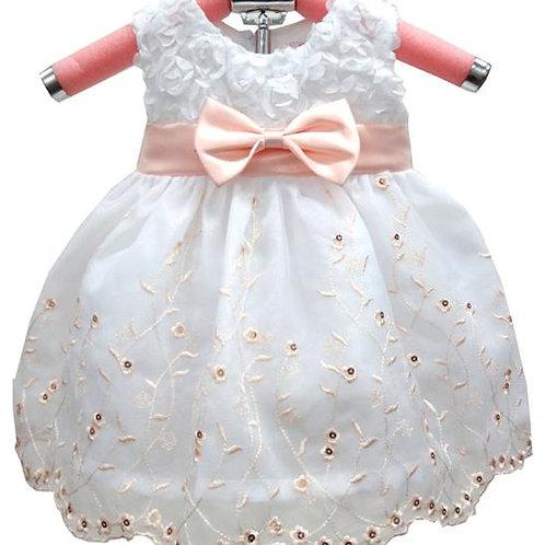 63-157 Infant Girls' Embroidered  Dress