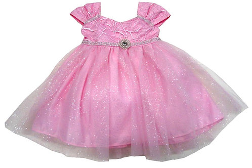 72-104 Infants'  Tulle  Embroidered  Dress