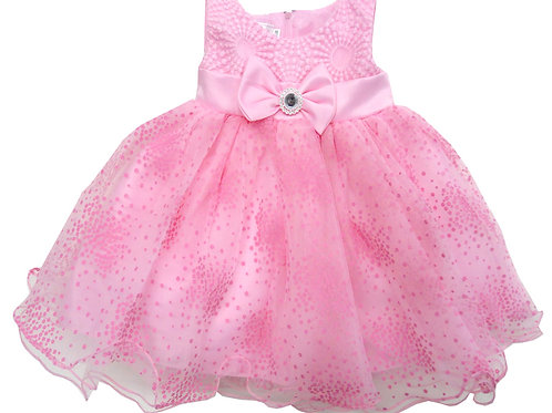 65-316 Infant Girls' Embroidered  Dress