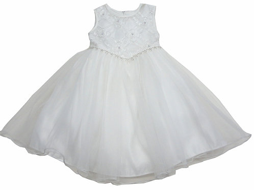 72-113  Infants'  Tulle  Embroidered  Dress