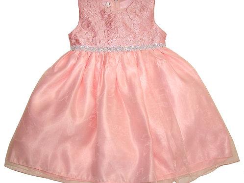 94-408X Girls' (4-6X)  Organza / Printed  Dress