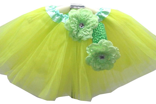 T209-1 Girls'  Tutu Head Band with Flower