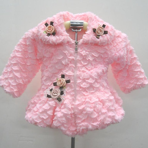 27-22 Toddler  Fur Jacket