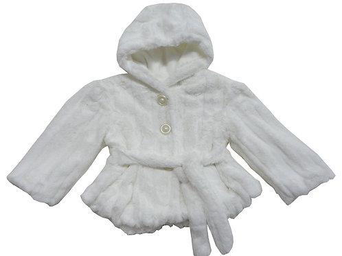 74-709 Girls'(4-10) Fur Jacket