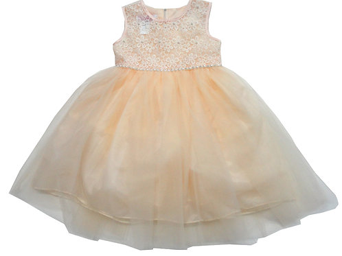 85-02 Infants' Tulle  Embroidered  Dress