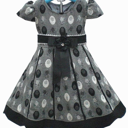 13-195 Girls' Rayon (Viscose) fabric Dress