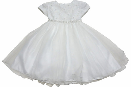 72-105X Girls' (4-6X) Tulle  Embroidered  Dress