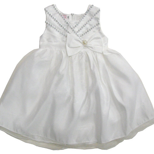 94-400 Infants' Organza Bead  Dress
