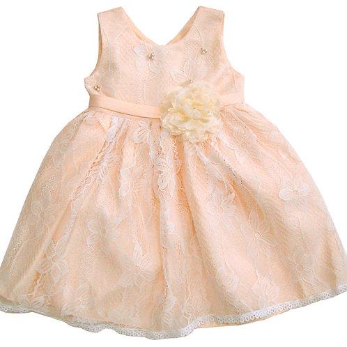 94-410 Infants' Tulle  Printed  Dress