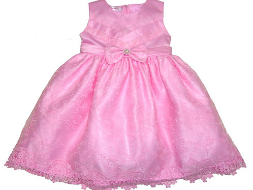 67-858 Infants'  Organza   Embroidered  Dress