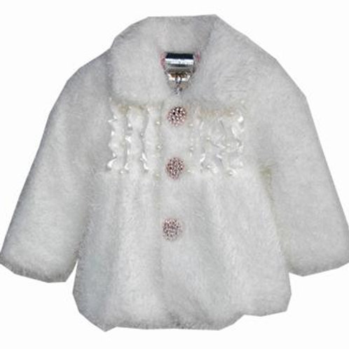 14-8423 Girls'(4-10) Fur Jacket
