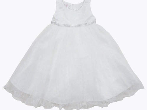 84-602 Infants'  Tulle  Embroidered  Dress