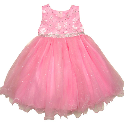 66-412T Toddler Girls' Flower Print Dress