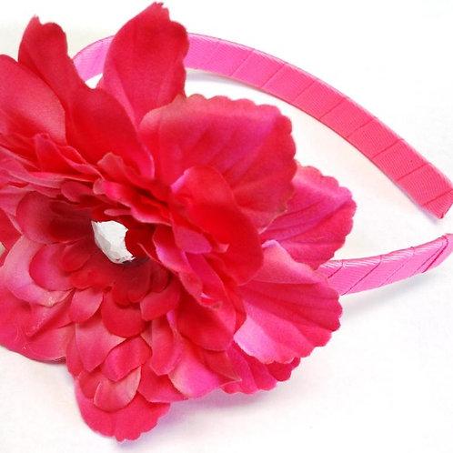 T100 Girl Satin Rosette Headband