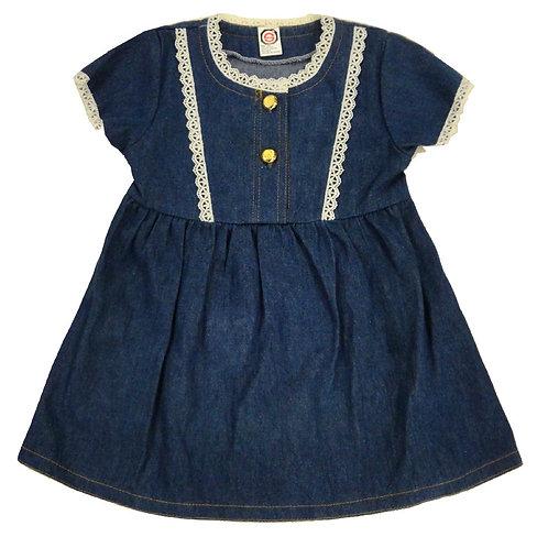 D-29 Girls' Denim Dress