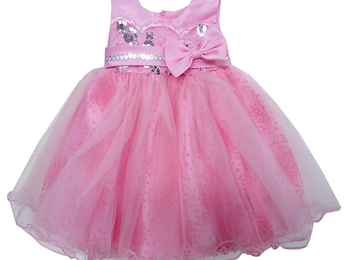 65-310T Toddler Girls' Embroidered Sequin Dress