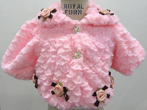 27-17 Infants'  Fur Jacket