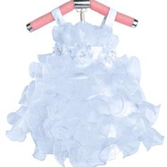 65-718 Infants' Organza  Ruffles Dress