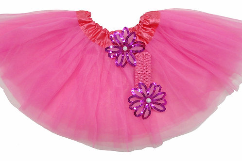 T203 Girls' Tutu with Head Band