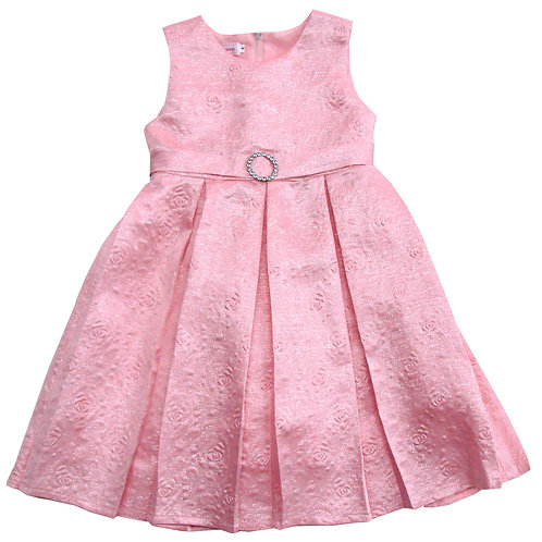 94-405X Girls' (4-6X) Santin Pinted Dress