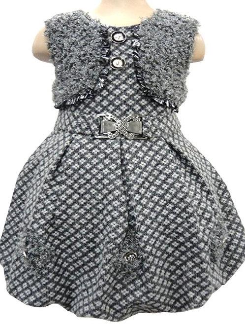 63-603X Girls' Holiday Dress Bolero