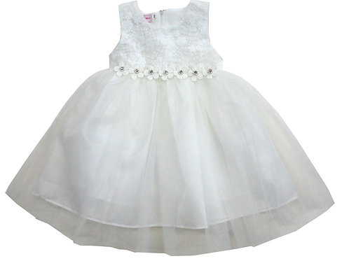 85-07 Infants' Tulle  Embroidered  Dress
