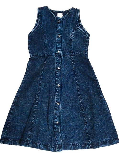 1-361  Girls' Denim Dress