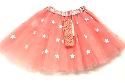 T157 Girls' Tutu with Head Band