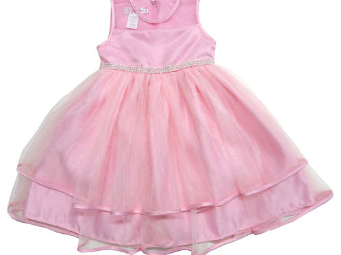 74-478X Girls' (4-6X) Tulle  Dress