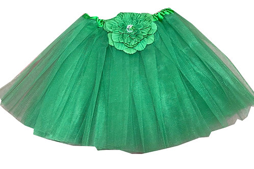 T808G-1  Girls'  Tutu with Head Band and Flower