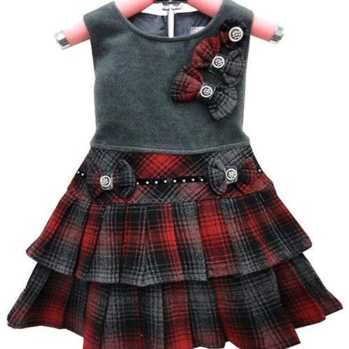 63-6909 Girls' Holiday Dress