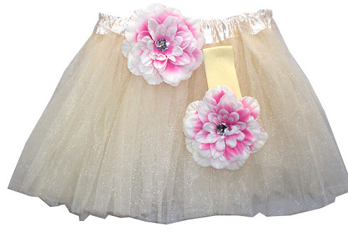 T204 Girls' Tutu with Head Band