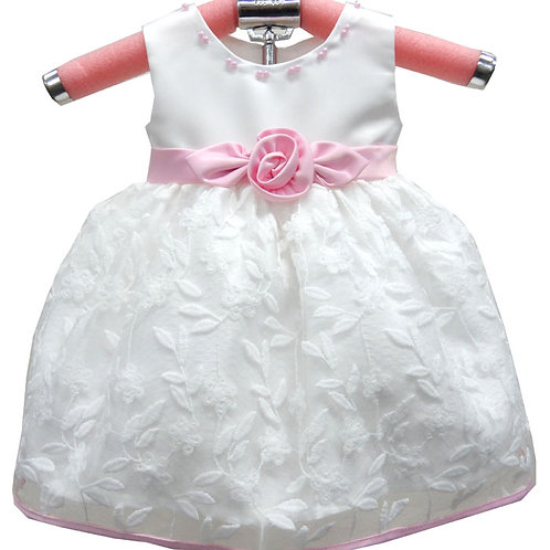 65-405T Toddlers' Embroidered Dress